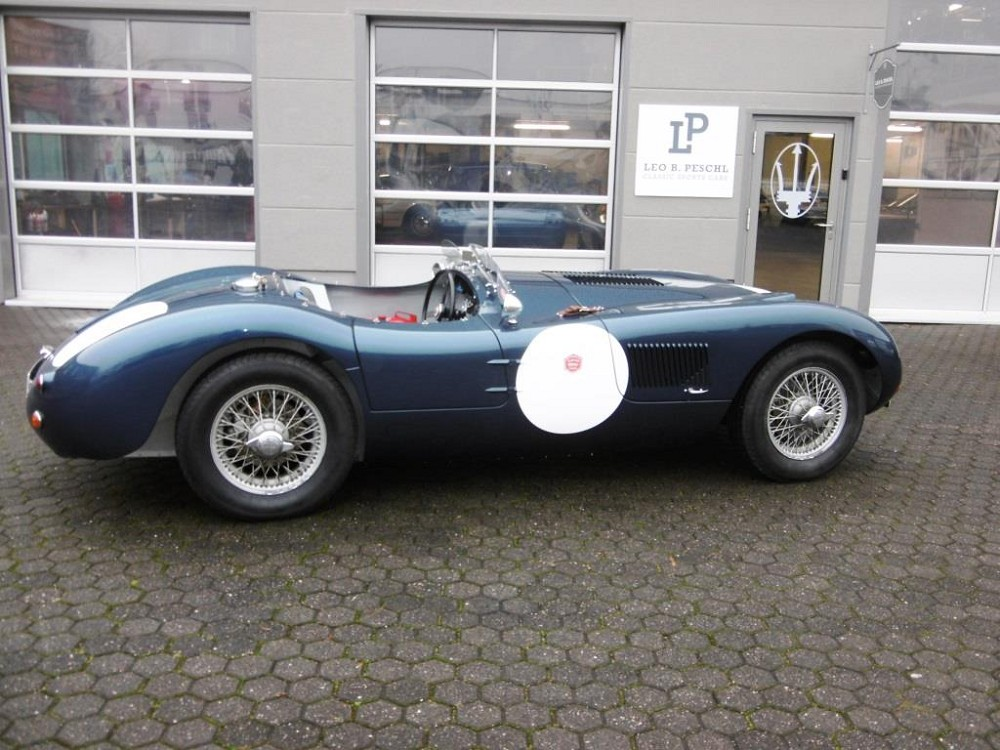 Jaguar C-Type Proteus for sale | Leo B  Peschl Classic Sports Cars GmbH