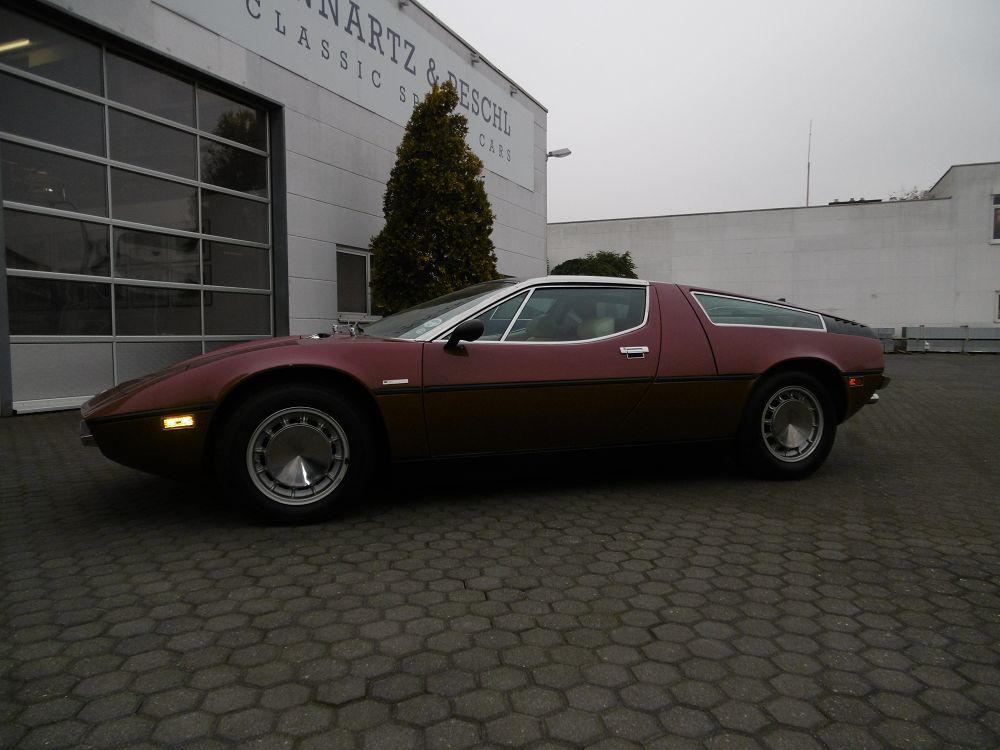 maserati bora zu verkaufen am117 leo b peschl classic sports cars gmbh. Black Bedroom Furniture Sets. Home Design Ideas